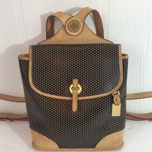 Dooney & Bourke Leather Cabrio Backpack Backsling